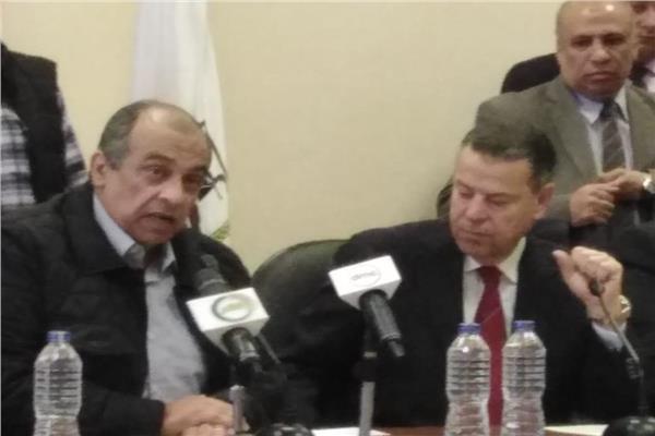 وزير الزراعة خلال جولته اليوم بمحافظة بني سويف