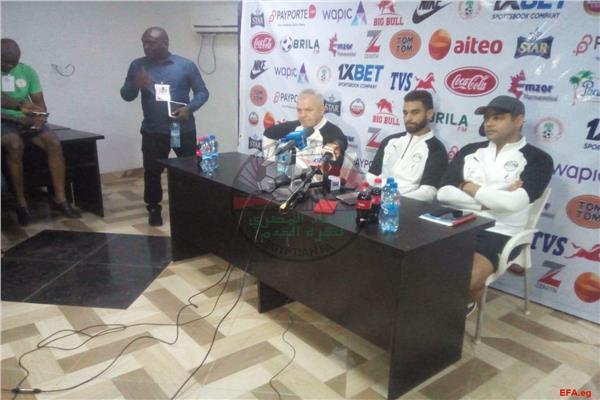 المؤتمر الصحفي لمباراة نيجيريا الودية
