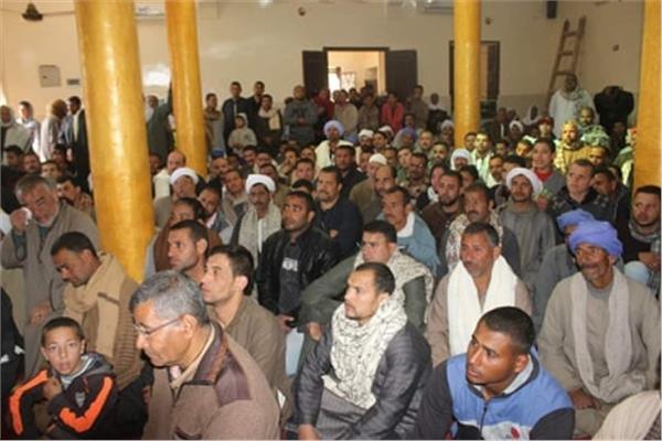 تحرير 27 محضر تمويني  مخالف  بمركزديرمواس بالمنيا