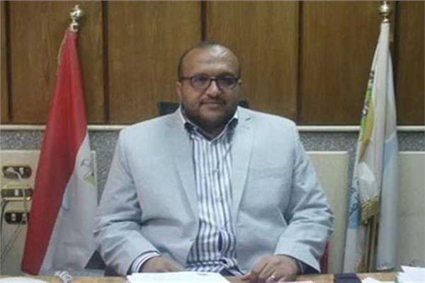 محمد صلاح مدير ادارة الشركة القابضة للمياة والصرف الصحي