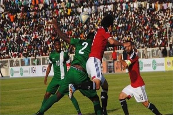 منتخبي مصر ونيجيريا