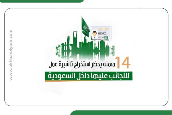 14 مهنه يحظر استخراج تأشيرة عمل للأجانب عليها داخل السعودية