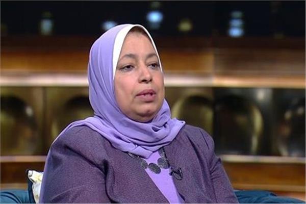 اميرة حامد مديرة عام برنامج الخدمة العامة في وزارة التضامن