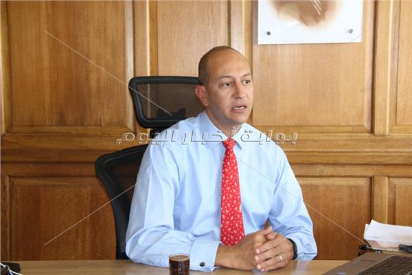 شريف البحيري رئيس قطاع المشروعات الصغيرة والمتوسطة ببنك مصر
