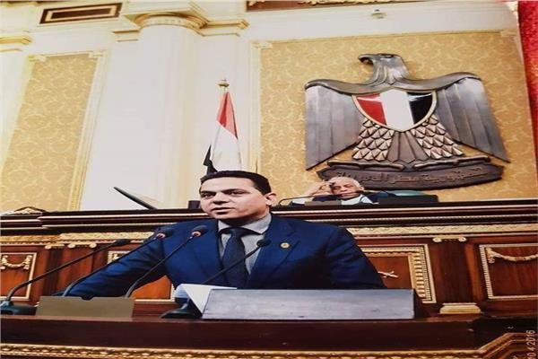 الدكتور إيهاب غطاطي عضو مجلس النواب