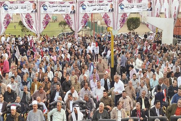 مسيرات ومؤتمرات تجوب القرى والنجوع