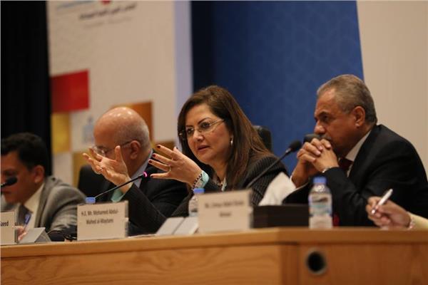 """وزيرة التخطيط تترأس جلسة """"إعادة التفكير في عدم المساواة في البلدان العربية"""""""