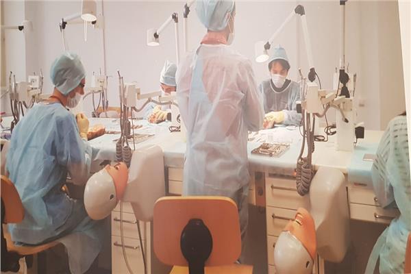 المدينة الطبية الطلابية لجامعة موسكو الروسية