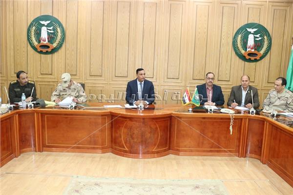 المنوفية تناقش الاستعدادات النهائية للاستفتاء على التعديلات الدستورية2019