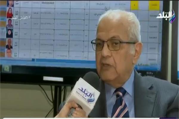 الدكتور حسين عبد العزيز، المشرف العام على التعداد الاقتصادى