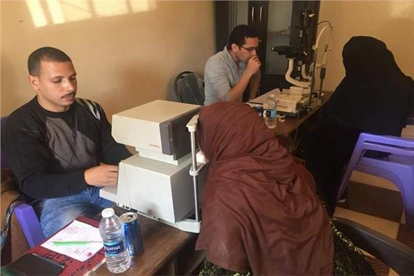 100مليون صحة تجري الفحوصات لـ 2 مليون و281 ألف مواطن في المنيا
