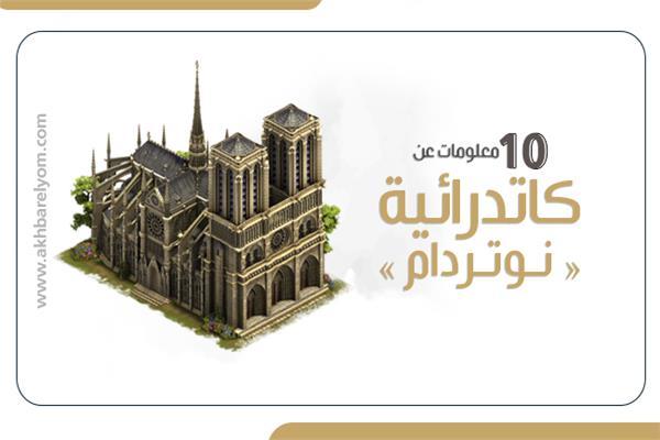 معلومات عن كاتدرائية نوتردام الفرنسية
