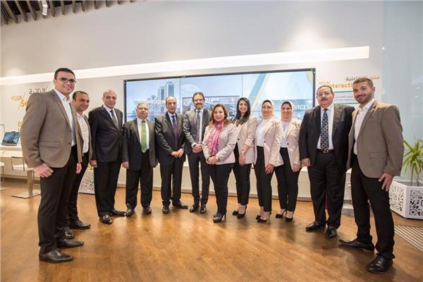 البنك الأهلي يفتتح الفرع الرابع للخدمة الإلكترونية في إسكندرية
