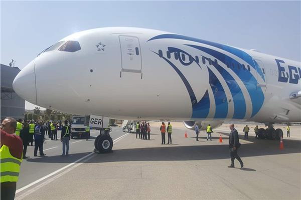 مصرللطيران تتسلم طائرة الأحلام الثانية