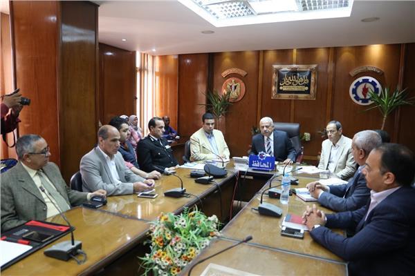 صقر يترأس اجتماع الاستعدادا للاستفتاء على الدستور