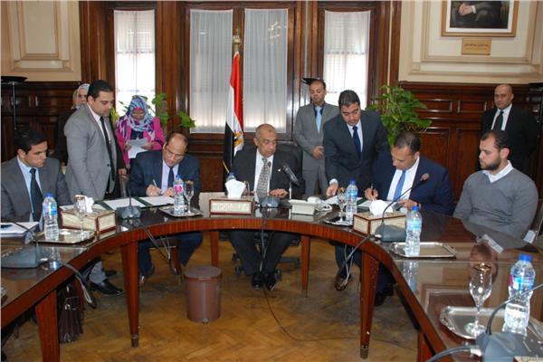 وزير الزراعة يشهد توقيع بروتوكول تعاون لدعم صغار المزارعين