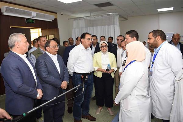 د.مصطفى مدبولي خلال زيارته لمحافظة الأقصر