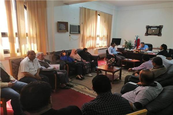 وكيل وزارة الصحة بجنوب سيناء واجتماعه بالقيادات الطبيه