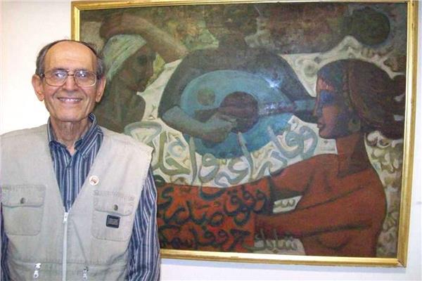 الفنان الكبير عز الدين نجيب