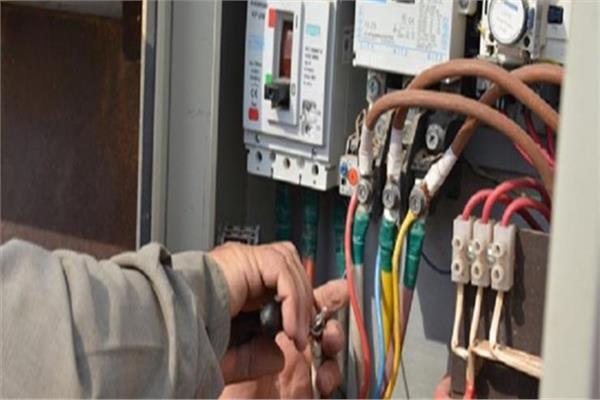 سرقة كابلات الكهرباء