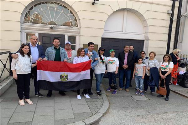 المصريون في الخارج (أرشيفية)