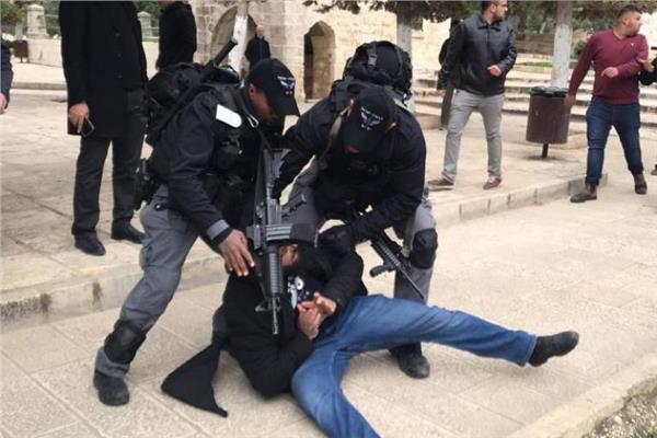 قمع قوات الاحتلال الإسرائيلي