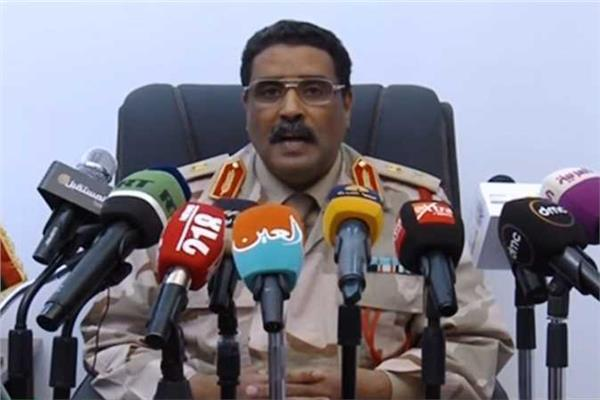 المتحدث باسم الجيش الوطني الليبي اللواء أحمد المسماري