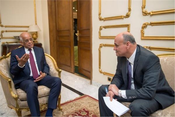 رئيس البرلمان يجيب على أسئلة الساعة بحوار لرئيس تحرير «الأخبار» الأحد