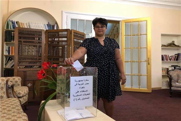 السفيرة د. نميرةً نجم المستشار القانوني للاتحاد الافريقي