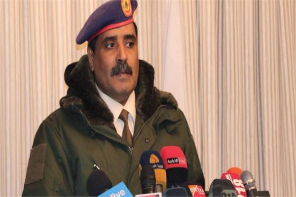 أحمد المسماري المتحدث باسم الجيش الوطني الليبي