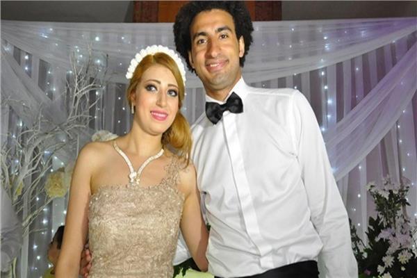 ندى محمود زوجة الفنان علي ربيع