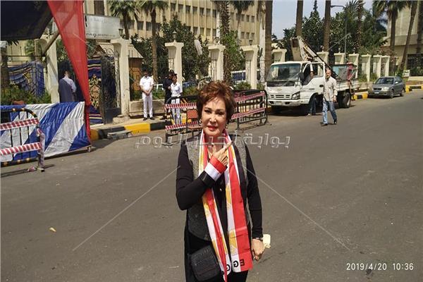 بلبه: سعادتي لا توصف اطالب المصريين بالمشاركة في الاستفتاء