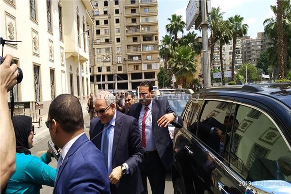 محافظ الجيزه، اللواء أحمد راشد