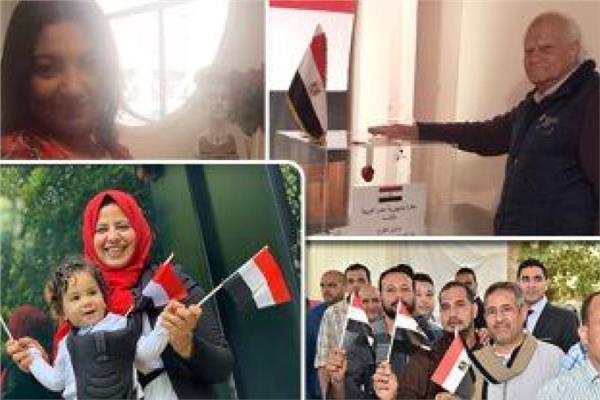 المصريون في الخارج يواصلون التصويت باليوم الثانى