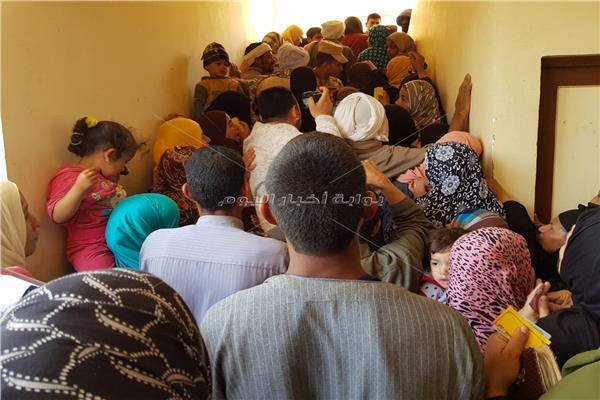 التعديلات الدستورية 2019| حشد جماهيري في مدرسة النويشي ببني سويف