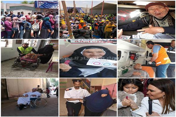 فعلها المصريون.. 10 مشاهد لا تنسى في أول يوم للاستفتاء على الدستور
