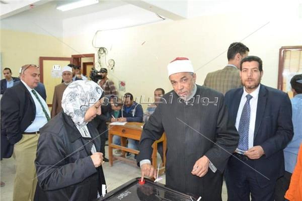 الشيخ جابر طايع - رئيس القطاع الديني