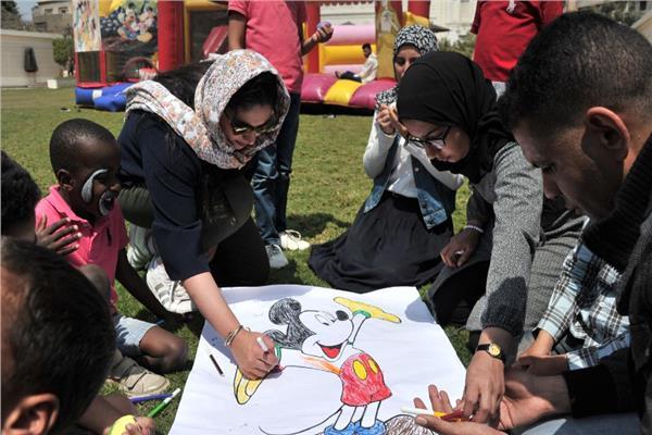 السفارة السعودية بالقاهرة تقيم احتفالية للأطفال