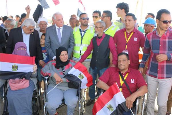 «فودة» يتفقد لجان الاستفتاء على التعديلات الدستورية بشرم الشيخ