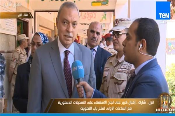 اللواء عبدالحميد الهجان - محافظ قنا