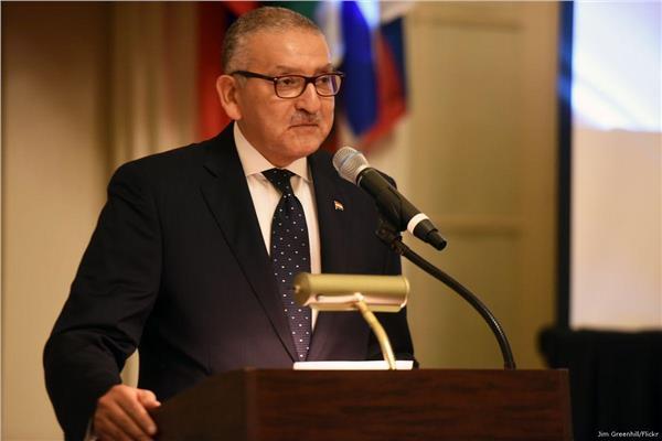 ياسر رضا  سفير مصر في واشنطن