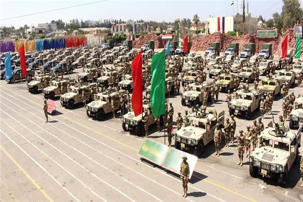 قوات تأمين الاستفتاء على التعديلات الدستورية من رجال القوات المسلحة