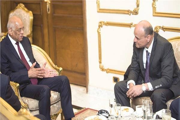د.علي عبد العال وخالد ميري رئيس تحرير الأخبار