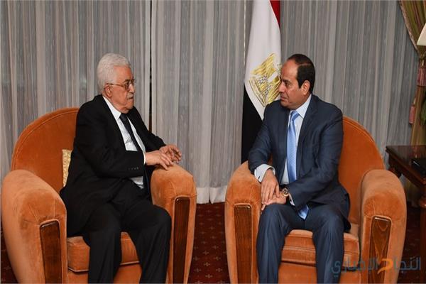صورة أرشيفية- الرئيس السيسي والرئيس أبو مازن