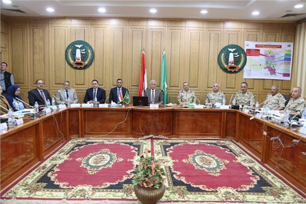 غرفة العمليات المركزية بديوان عام محافظة المنوفية