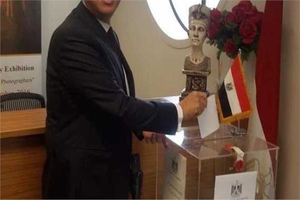 تصويت المصريين بالخارج على التعديلات الدستورية