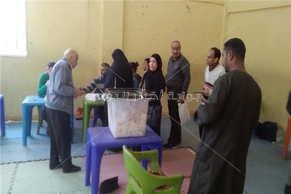 ثاني أيام الإستفتاء بالإسكندرية