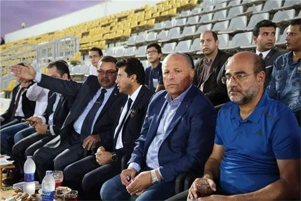عامر حسين وهاني أبو ريدة