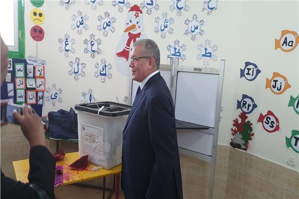 المستشار جمال عبدالرحمن رئيس محكمة البحر الاحمر ا