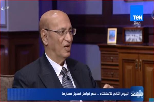 المستشار محمد الشناوي نائب رئيس المحكمة الدستورية العليا السابق